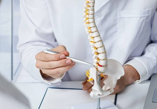 Symptoms of a disc bulge or bulging disc